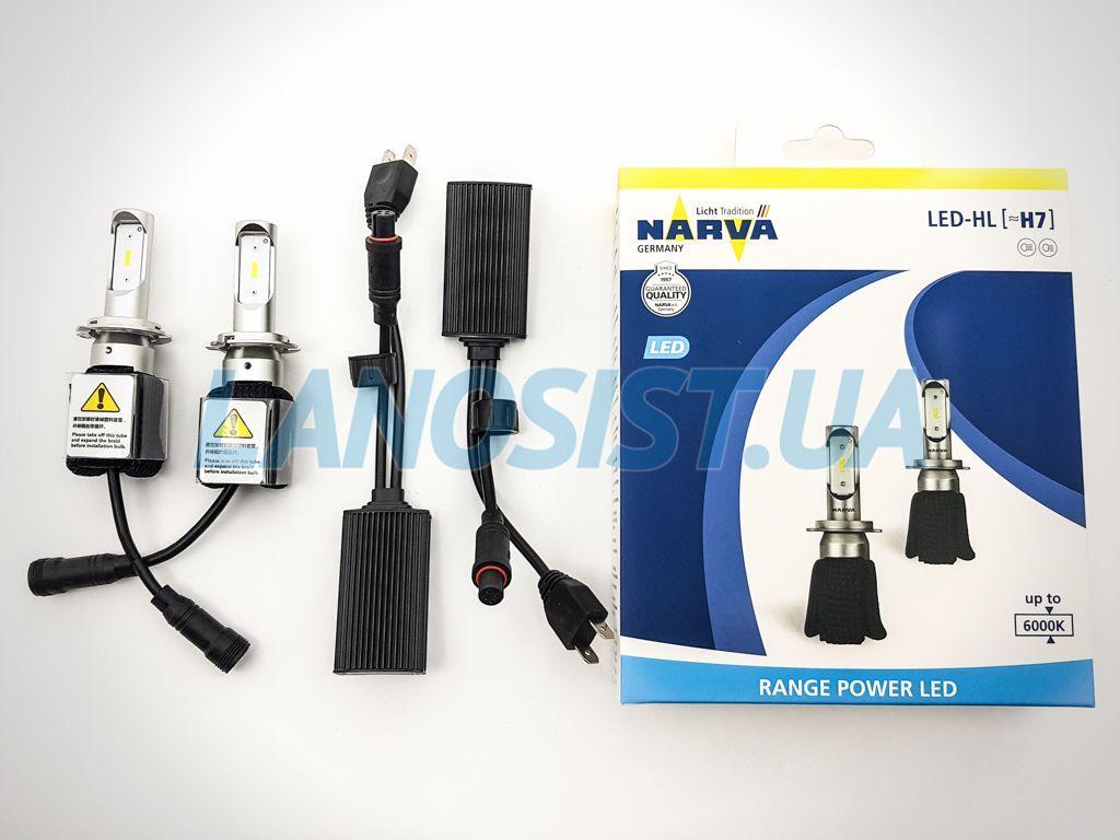 Автолампы H7 LED 6000K Range Power Narva 18005.