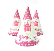 """Ковпак святковий 15 см, """"Принцеси сердечка"""""""