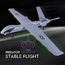 Літак на радіоуправлінні Z51 Predator Р/У 2.4 Ghz RTF з Гіроскопом Дрон EPP для початківців і профі 660 мм DIY