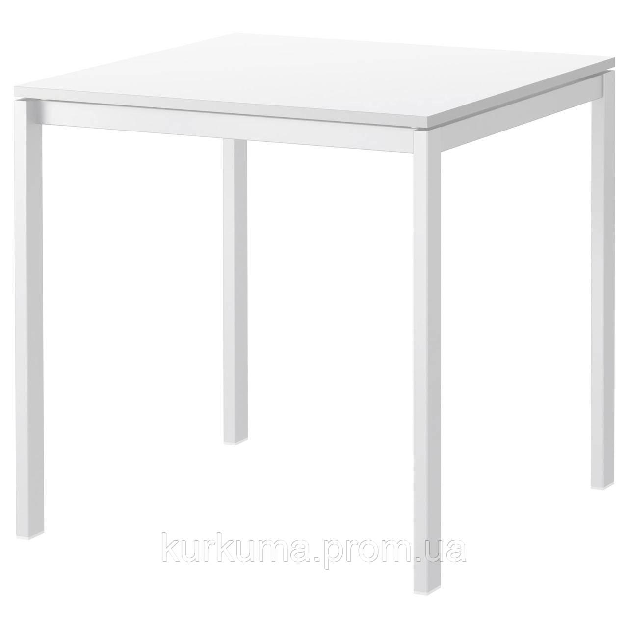 IKEA MELLTORP Стол, белый  (390.117.81)