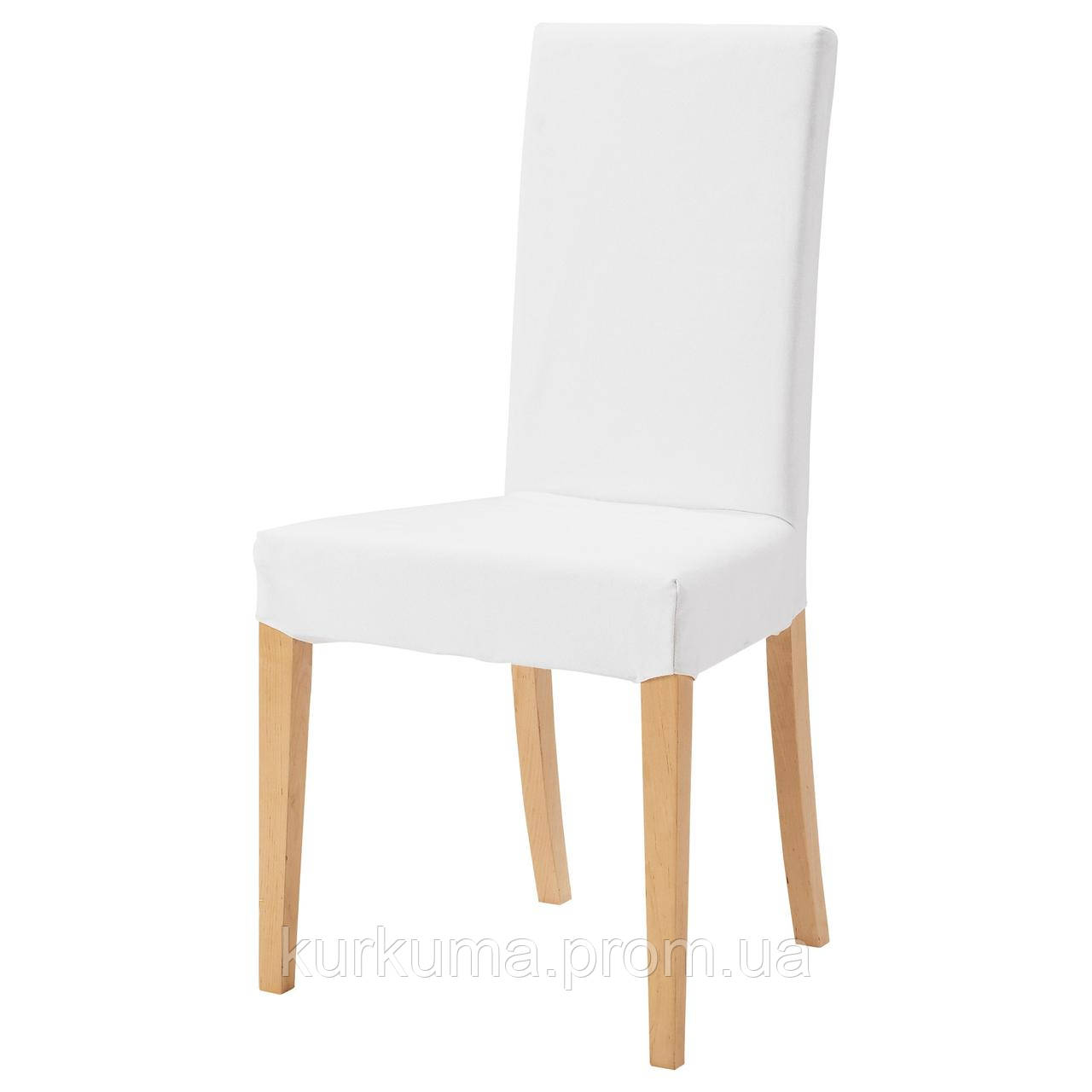IKEA HARRY Стул, береза, Блекинге белый  (601.058.29)