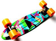 """Скейт Penny Board """"Marco's"""" Green 2in1 (Пенни борд), фото 1"""