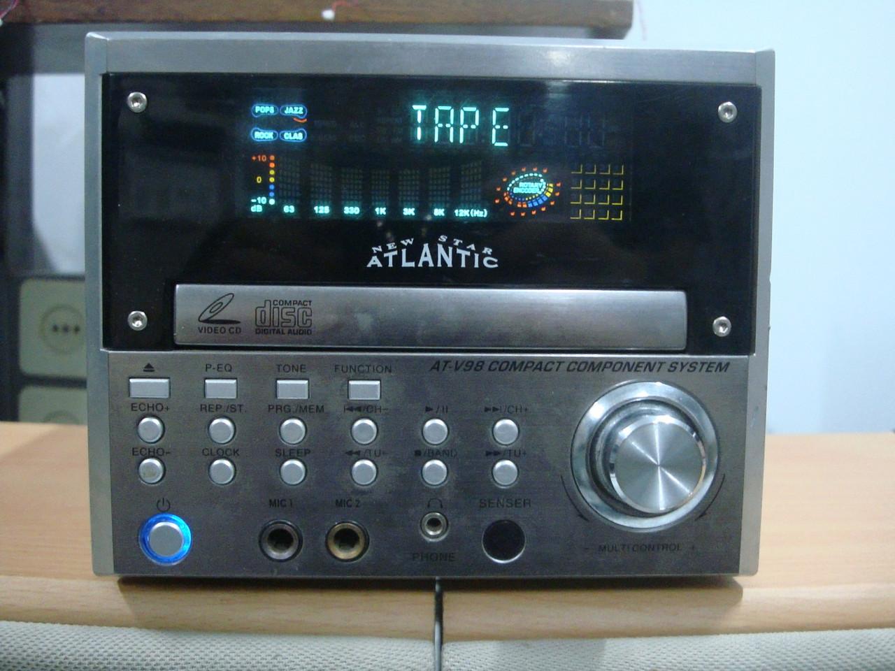 Компактный музыкальный центр Atlantic CD, MP3, FM