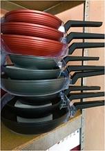 Набор посуды сковородки разные размеры Zurrichberg ZB 2001/2002/2003 мраморное покрытие 20/24/28 см Черный
