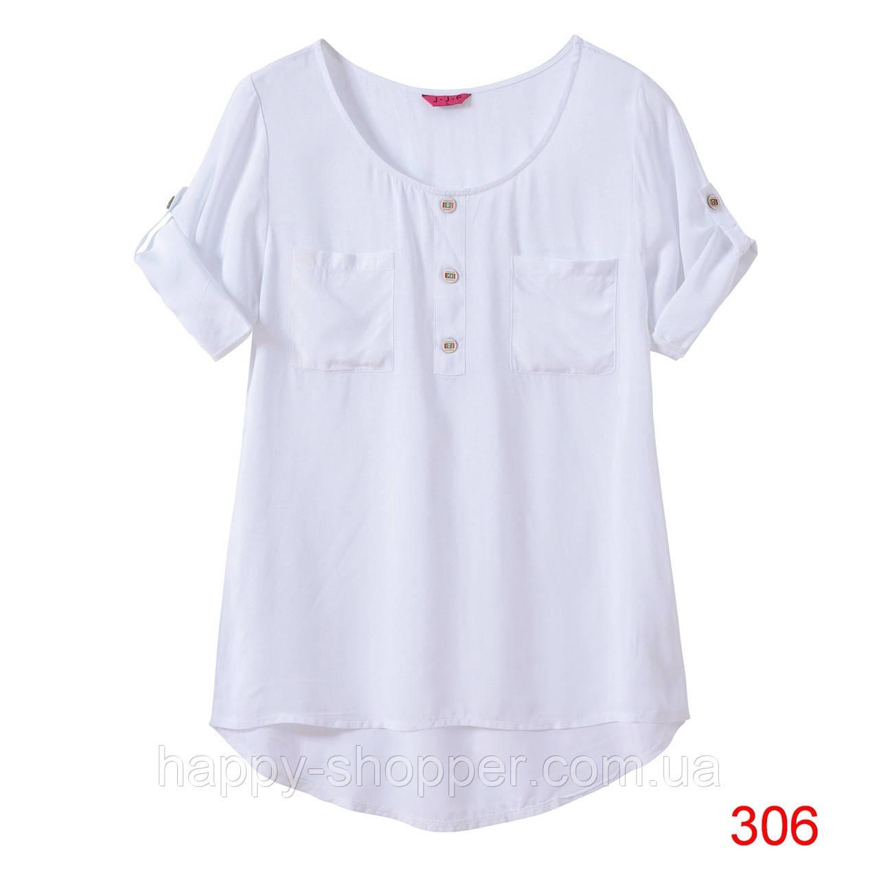 Блузка штапельная однотонная 306