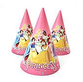 """Ковпак святковий 15 см, """"Принцеси Дісней"""""""