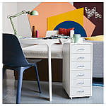 IKEA ODGER Стул, синий  (003.600.02), фото 3
