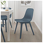 IKEA ODGER Стул, синий  (003.600.02), фото 8