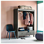 IKEA ODGER Стул, синий  (003.600.02), фото 9