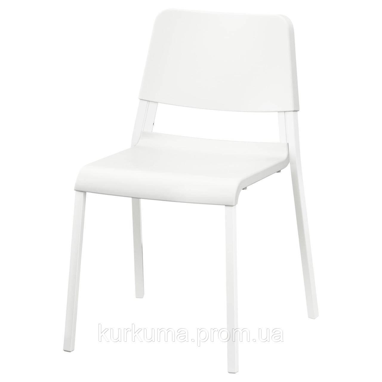 IKEA TEODORES Стул, белый  (903.509.37)