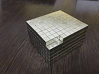 Неодимовый магнит квадратный 8*8*8 мм N42. Польша.