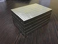 Неодимовый магнит квадратный 10*10*4 мм N42. Польша.