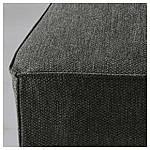 IKEA HENRIKSDAL Стул, береза, ДАНСБУ темно-серый  (999.264.50), фото 4