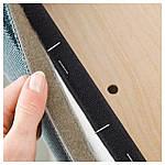 IKEA HENRIKSDAL Стул, коричневый, Finnsta-бирюзовый  (892.207.63), фото 2