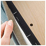 IKEA HENRIKSDAL Стул, темно-коричневый, finnsta бирюзовый  (892.207.58), фото 2