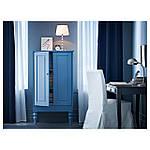 IKEA HENRIKSDAL Стул с длинным чехлом, береза, Блекинге белый  (598.500.46), фото 6
