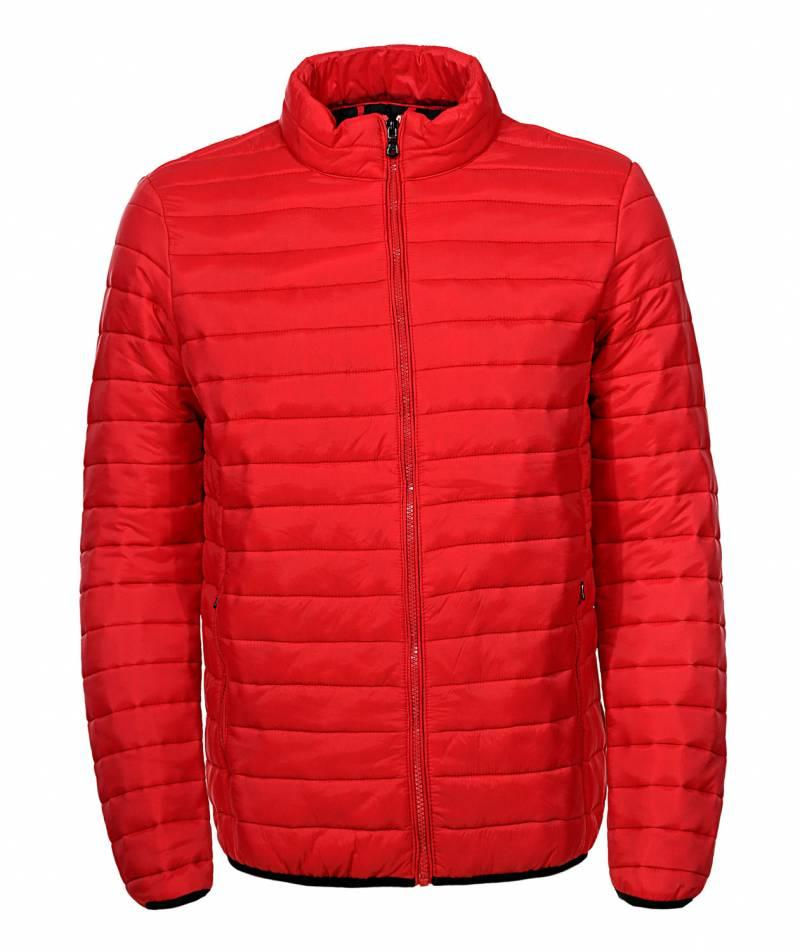 Куртка мужская стеганая красная Glo-Story