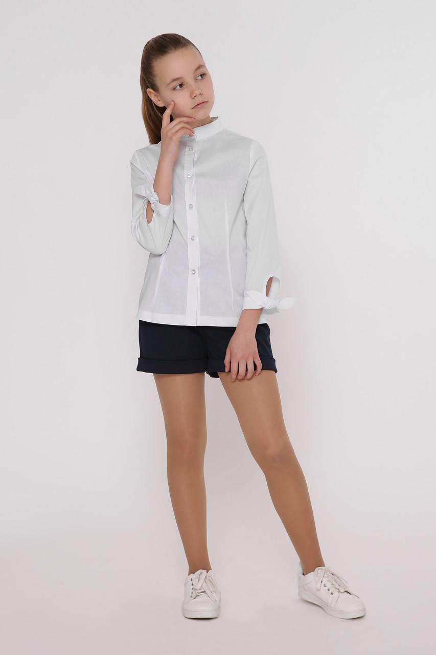 Рубашка детская Татьяна Филатова модель 186  белая