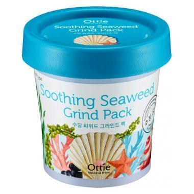 Акція -35% Маска для лица с морскими водорослями и водой Ottie Seaweed Soothing Grind Pack - 100 мл