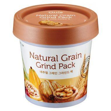 Акція -35% Питательная маска для сухой кожи лица Ottie Natural Grain Grind Pack - 100 мл