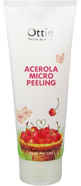Акція -15% Пилинг для лица с натуральной целлюлозой и ацеролой Acerola Micro Peeling Ottie-150 мл