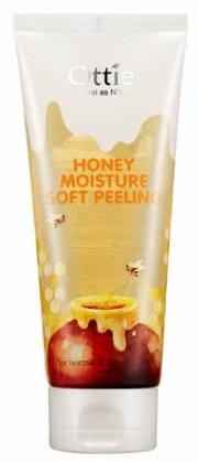 Акція -15% Деликатный пилинг для лица на основе меда Ottie Honey Moisture Soft Peeling - 150 мл