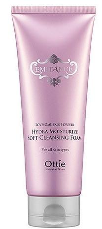 Акція -15% Пенка для умывания Увлажняющий Ottie Emitance Hydra Moisturize Soft Cleansing Foam - 150 мл