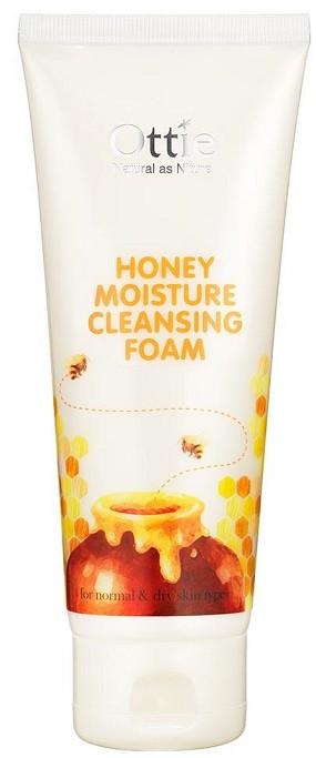 Акція -15% Пенка для умывания Ottie Honey moisture cleansing foam с медом, 150 мл