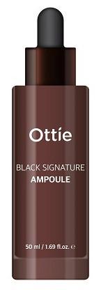 Акція -15% Ампульная сыворотка с муцином улитки Омолаживающия Ottie Black Signature Ampoule-50 мл