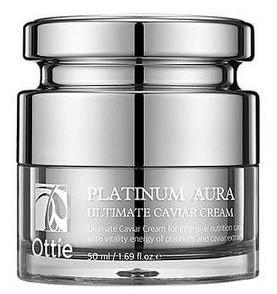 Акція -15% Антивозрастной крем с платиной Ottie Platinum aura utimate caviar cream, 50 мл