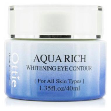 Акція -15% Крем для глаз с талыми водами Аляски Ottie Aqua Rich Whitening Eye Contour - 40 мл