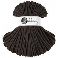 Шнур хлопковый Bobbiny 5 мм, Шоколад