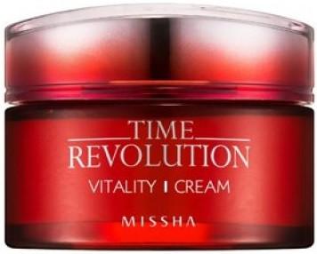 Акція -15% Интенсивный антивозврастной крем Missha Time Revolution Vitality Cream - 50 мл