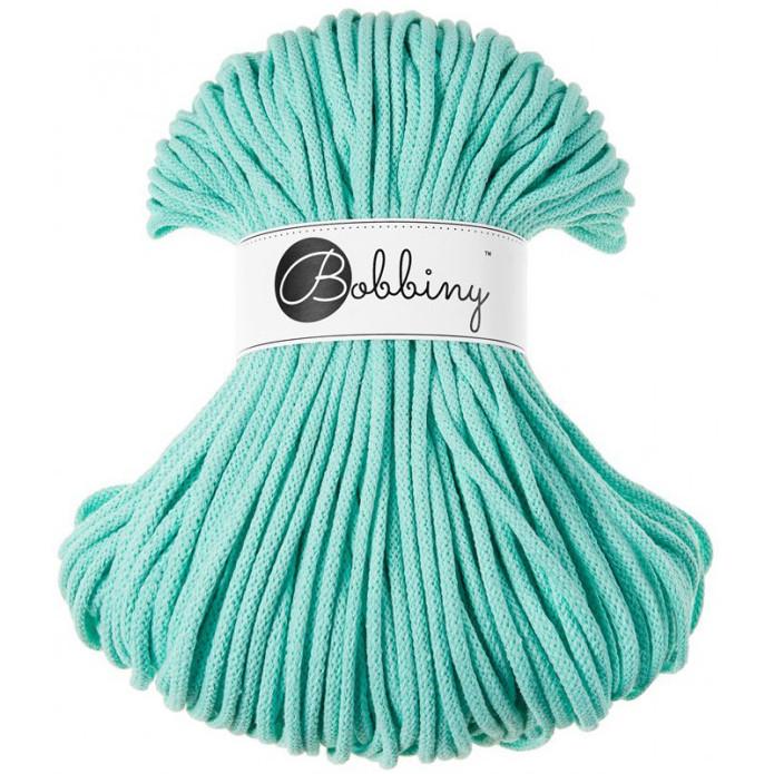 хлопковый шнур Bobbiny 5 мм мятный цена 209 грн купить в херсоне
