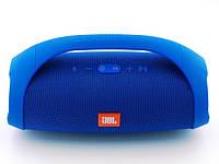 Колонка большая JBL Boombox BIG синяя. Блютуз колонка беспроводная + Подарки