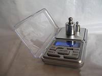 Весы карманные, ювелирные pocket scale mh-100, максимум 100 г, шаг - 0,01 г, тарирование, подсветка дисплея