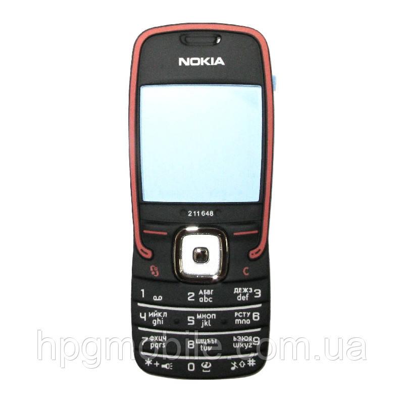 Клавиатура для Nokia 5500, розовая, оригинал