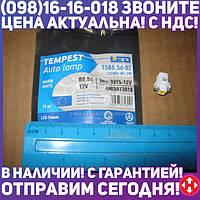 ⭐⭐⭐⭐⭐ Лампа LED панель приборов, подсветки кнопок T5B8,5d-02 (1SMD) W1.2W B8.5d тепло белая 12V <TEMPEST  tmp-39T5-12V