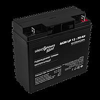 Аккумулятор кислотный AGM LogicPower LP 12 - 20 AH SILVER