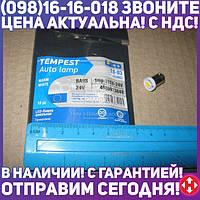 ⭐⭐⭐⭐⭐ Лампа LED габарит, посветка панели приборов T8-03 (1LED) BA9S тепло белый 24 Volt<TEMPEST>  tmp-29T8-24V
