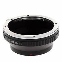 Адаптер переходник Canon EOS - Nikon 1 J1, кольцо Ulata