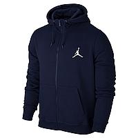 Спортивная толстовка на молнии Jordan, синяя