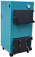 Котёл дровяной Protech TT-30 (Дрова) Lux D c охлаждаемыми чугунными колосниками, фото 1
