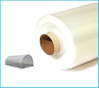Пленка белая 30 мкм (3м*100 м.) прозрачная, полиэтиленовая, фото 1