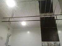 Реечный алюминиевый потолок Бард ППР- КФ-100 без межпанельного профиля цвет зеркальный хром  готовый комплект