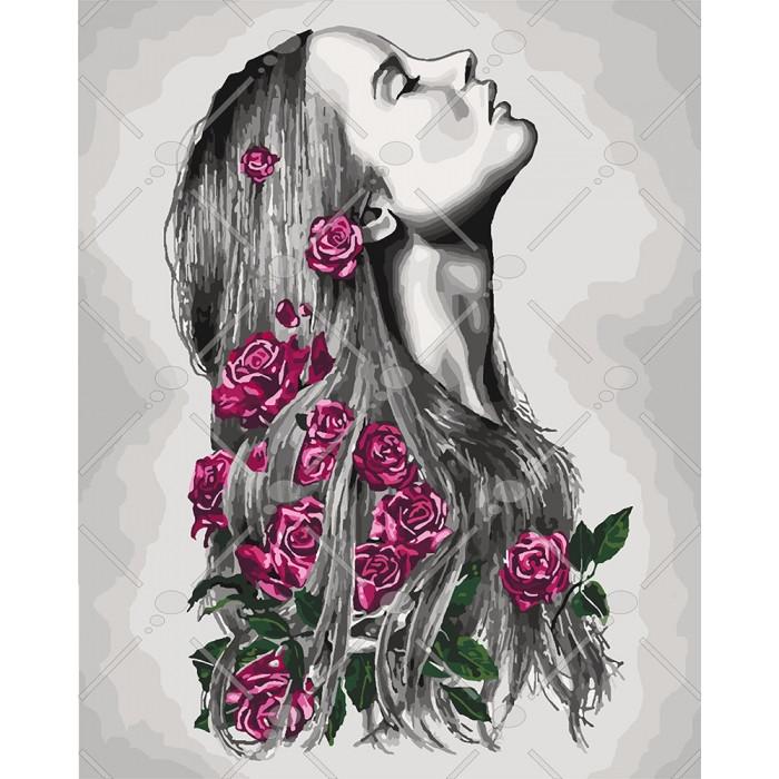 Картина по номерам Идейка - Расцветаю 40x50 см (КНО4576)