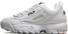 Мужские кроссовки Fila Disruptor Low ll 1010262 1FG White, Фила Дизраптор