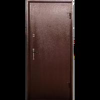 Входная металлическая бронированнная дверь Арка металл/МДФ (серия «Эконом»)