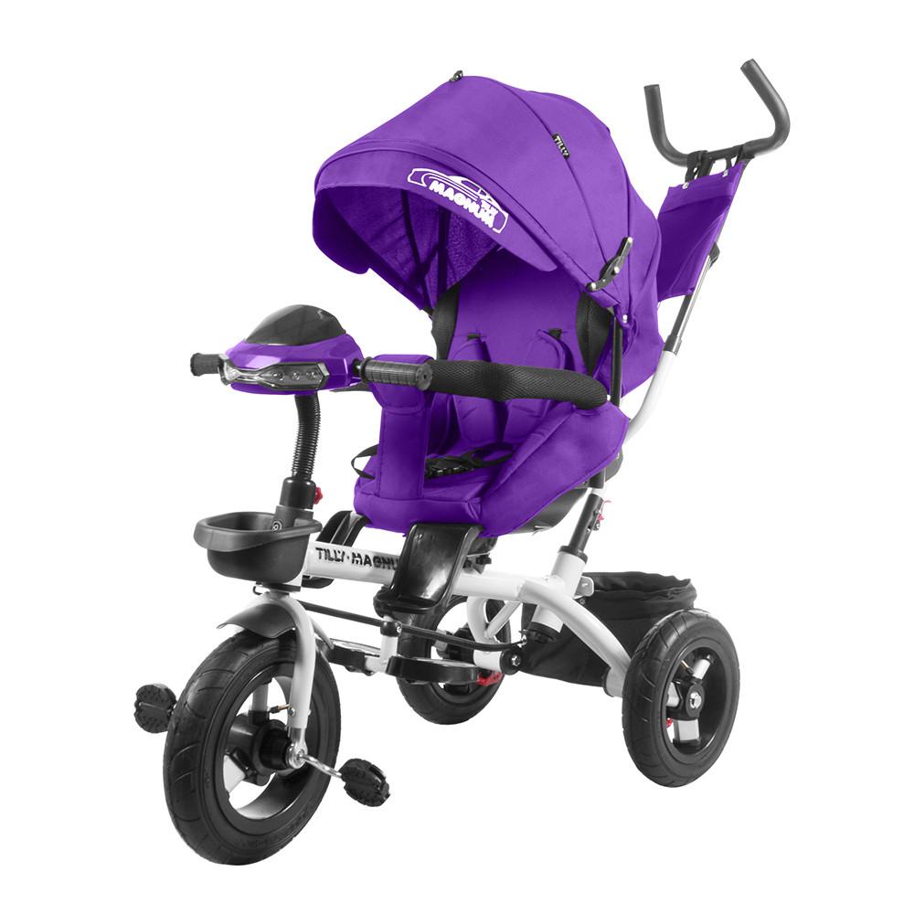 Велосипед трехколесный TILLY MAGNUM T-382 Фіолетовий
