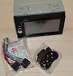 Автомагнитола Pioneer 2DIN, BT, SD, USB,AUX,Fm. Гарантия+ПУЛЬТ на РУЛЬ, фото 2